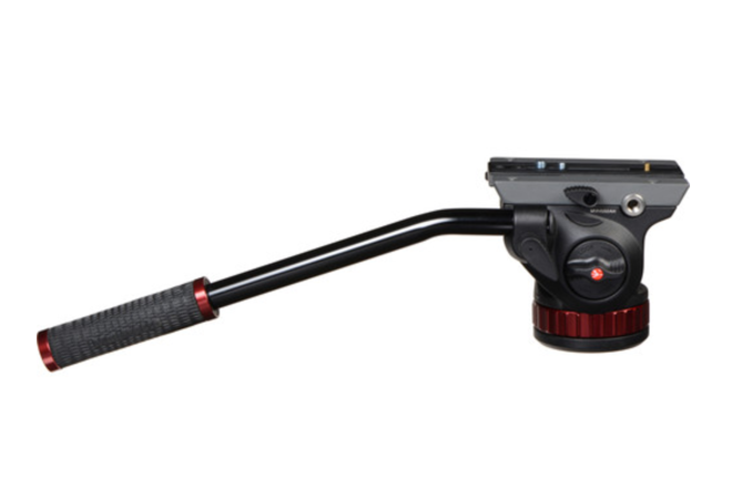 "Manfrotto 502HD Pro Video Head with Flat Base (3/8""-16 Conne"