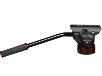 "Rent: Manfrotto 502HD Pro Video Head with Flat Base (3/8""-16 Conne"