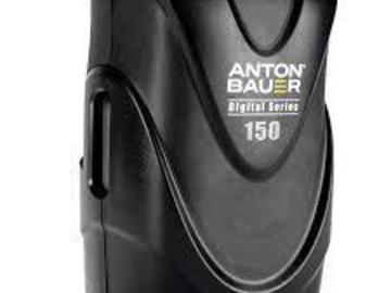 Rent: Anton Bauer Digital 150 V-Mount 2 Battery kit w/charger