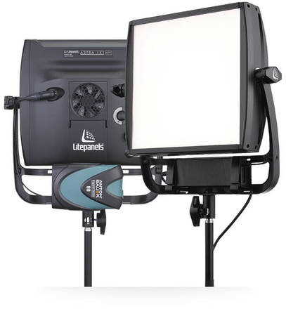 TWO Astra 1x1 Soft Bi-Color LitePanel Package