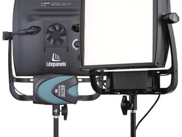 Rent: TWO Astra 1x1 Soft Bi-Color LitePanel Package
