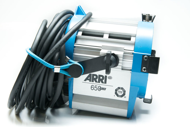 ARRI Tungsten Light Kit 3x 650 Fresnels