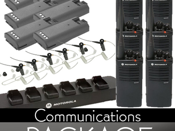 Rent: (6) Communications Package - *18 Total Available