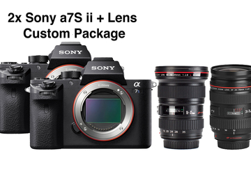 Rent: 2x Sony a7S ii + Lens Package