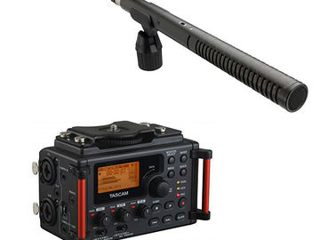 Rode NTG2 & DR-60DmkII Rental Kit