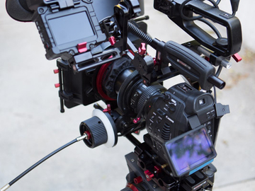 Rent: (2) Canon C100s Camera interview Kit