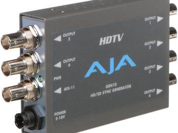 Rent: AJA GEN10 HD/SD/AES Sync Generator