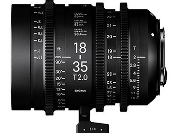 Rent: Sigma Cine Zoom 18-35 T/2 PL Mount