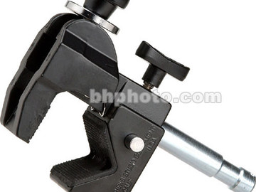 "Rent: Matthews Super Mafer Clamp with 5/8"" Pin - Black"