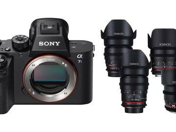 """Sony a7S ii 4K """"Shooter McGavin ii"""" Audio/Lens Package"""