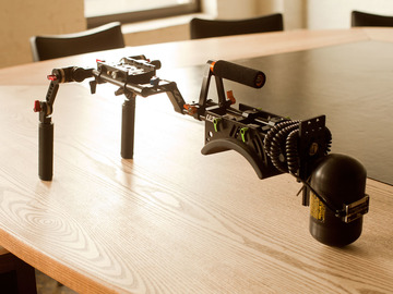 Handheld Rig with Follow Focus and Ken-Lab stabilizer