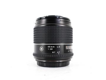 Rent: Phase One Schneider 55mm f/2.8 LS [Blue Ring]