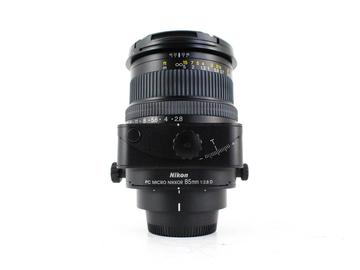 Rent: Nikon PC-E 85mm f/2.8D Micro