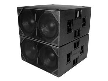 11000 Watt High End Powered Audio System