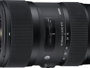 Rent: Sigma 18-35mm f/1.8 DC HSM Art EF