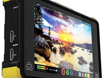 "Rent: Atomos Shogun Flame 7"" 4K Recorder"