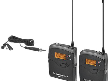 Rent: Sennheiser G3 Wireless Lavalier Rental Kit
