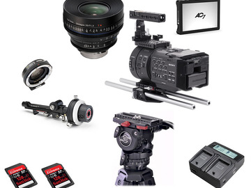 Rent: Built out Sony FS700+Zeiss CP2 T/1.5 of your choice
