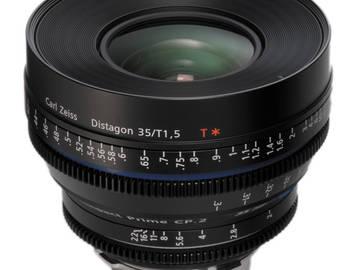 Rent: Zeiss CP2 35mm/ T1.5 EF Mount