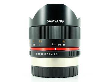 Rent: Samyang 8mm f/2.8 UMC II, X Mount