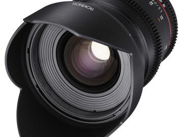 Rent: Rokinon 24,35,50,85 MM T1.5 DS Lens Set