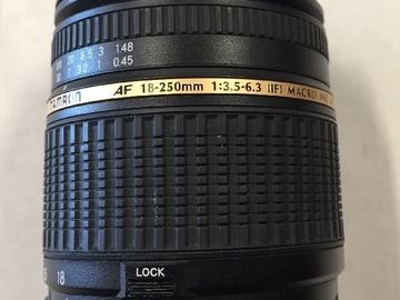 Rent: Tamron A18 18-250mm f 1:3.5-6.3 LD Di-II Aspherical IF MACRO