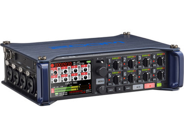 Rent: ZOOM F8 8 Channel Field Mixer/Recorder with Case