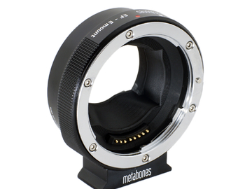 Rent: Metabones EF to E Mount Adapter (Mark IV)