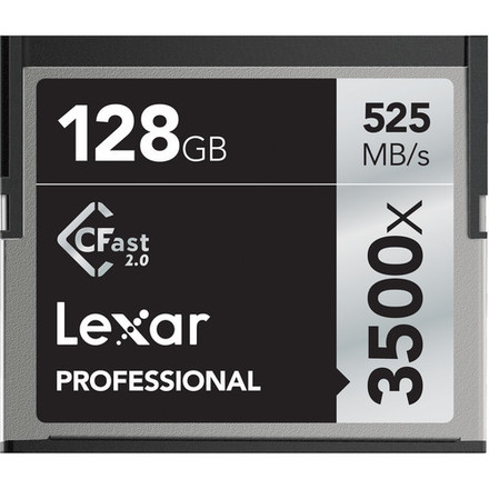 4x 128GB CFast 2.0 Cards