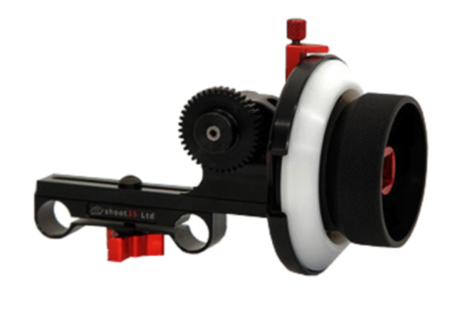 Shoot35 Cinefocus w/RedRock Micro Lens Gears