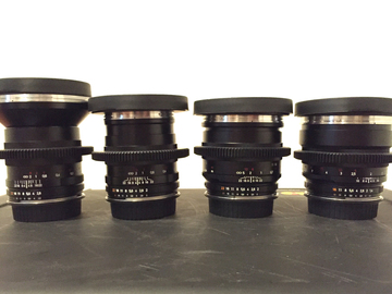 Rent: ZEISS Classic PRIME ZF.2 Cinemod PRO LENS SET / EF-Mount