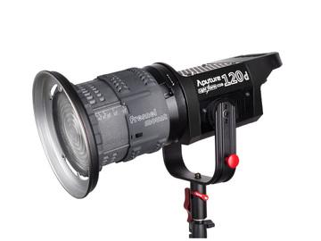 Aputure Light Storm COB 120d Fresnel LED, V-mount (1 of 3)