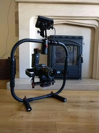 FULLY RIG UP RONIN M RING MOUNT MONITOR