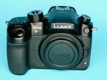 Rent: Panasonic Lumix DMC-GH4 w/ V-Log, 256GB SDXC, 2 Batteries B