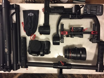 Rent: Dji Ronin/Metabones speed booster/24mm Rokinon