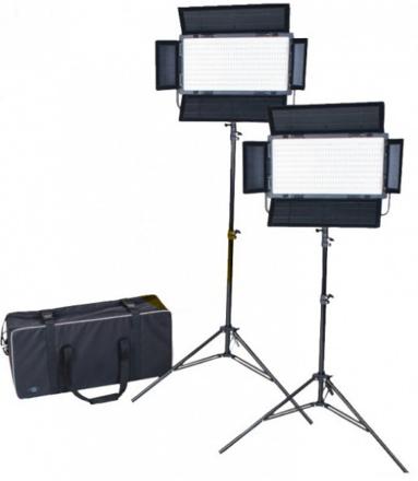 FOVITEC StudioPRO Daylight 1200 LED Panel Bundle