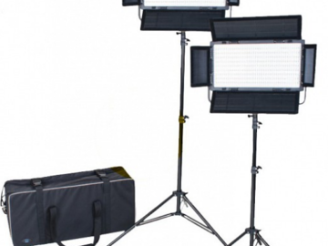 Rent: FOVITEC StudioPRO Daylight 1200 LED Panel Bundle