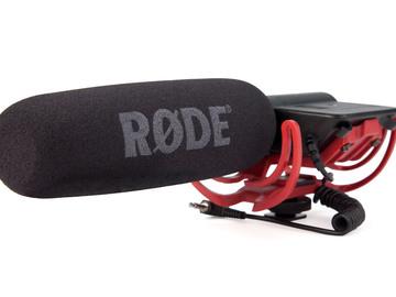 Rent: Rode VideoMic On-Camera Microphone
