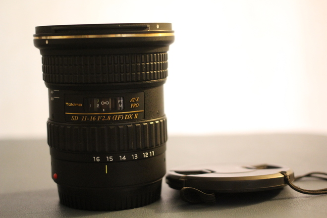 Tokina AT-X 11-16mm f/2.8 116 Pro DX II - Canon EF
