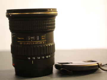 Rent: Tokina AT-X 11-16mm f/2.8 116 Pro DX II - Canon EF