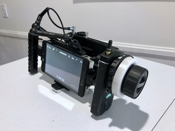 Rent: SmallHD 702 Bright with Director's Cage + DJI Focus