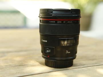 Rent: Canon EF 24mm f/1.4L II USM Lens