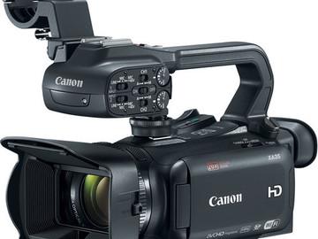 Rent: Canon XA35 Professional Camcorder