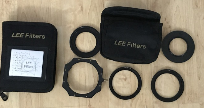 Lee Filter Kit and filters  100x100