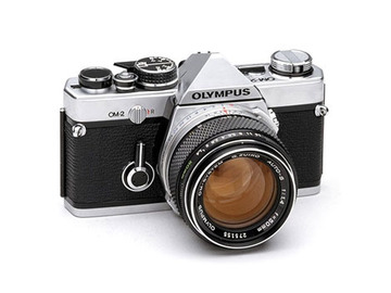Rent: Olympus OM-2 SLR Camera with 50mm f/1.4 Zuiko Lens
