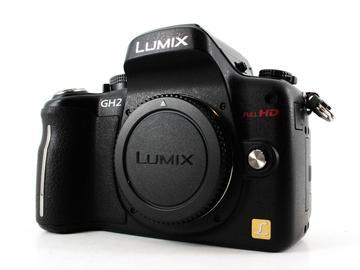 Rent: Panasonic Lumix DMC-GH2