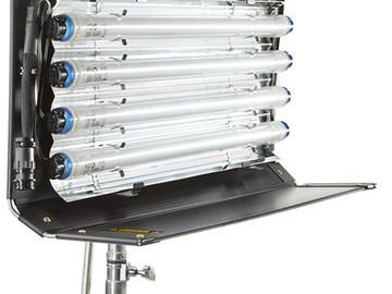 Rent: Kino Flo 2-ft 4-Bank Fixture & Ballast, 5600 + 3200 bulbs