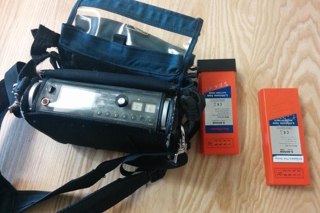 Tascam DR-680 6-ch Recorder w case, & 2 NP-1 batteries