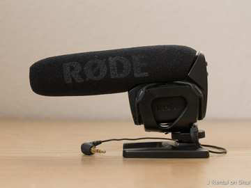 Rent: Rode VideoMic Pro Compact VMP Shotgun Microphone