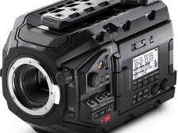 Rent: Blackmagic URSA Mini Pro EF MOUNT w/PL adapter  FULL KIT